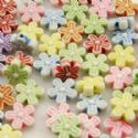 Acrylic beads, Assortment of colours, Irregular shape, 3mm x 9mm, 50g, 310 beads, (YKL0004)